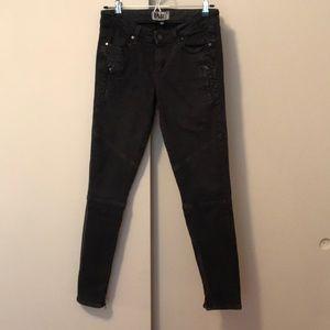 Paige Skinny Moto Jeans